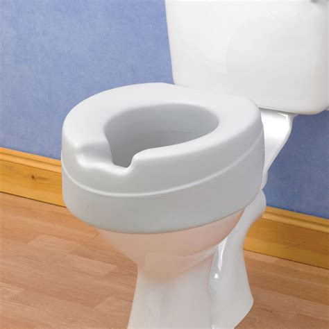 raised toilet seat raised toilet seat comfyfoam the mobility centre