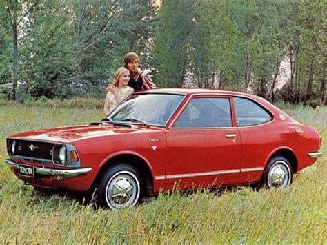 72 Toyota Corolla Toyota Corolla Coupe 1970 72