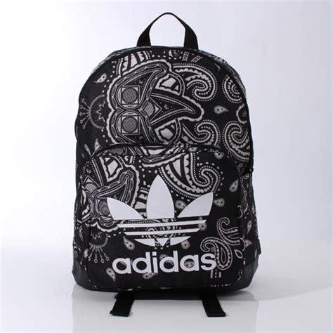 New Adidas Black For School adidas originals paisley backpack ai4407 black trefoil