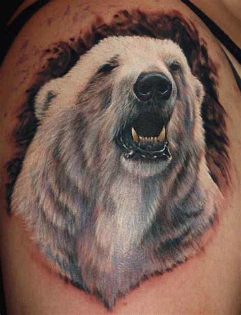 25 fotos de tatuagens de urso significados