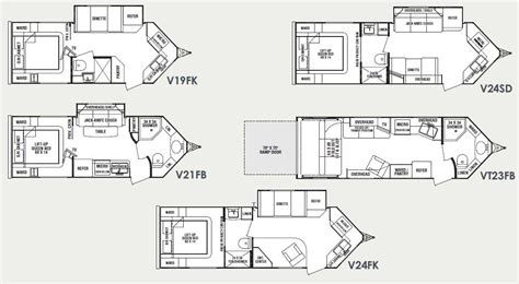 hi lo travel trailer floor plans hi lo cer floor plans 2017 thor motor coach four