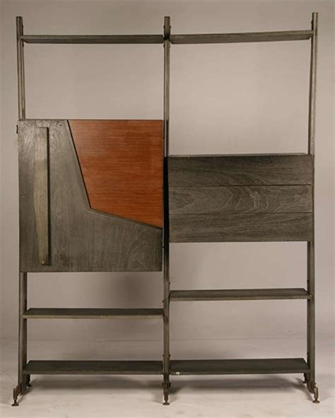 etagere bar mid century modern modular etagere with bar for sale at