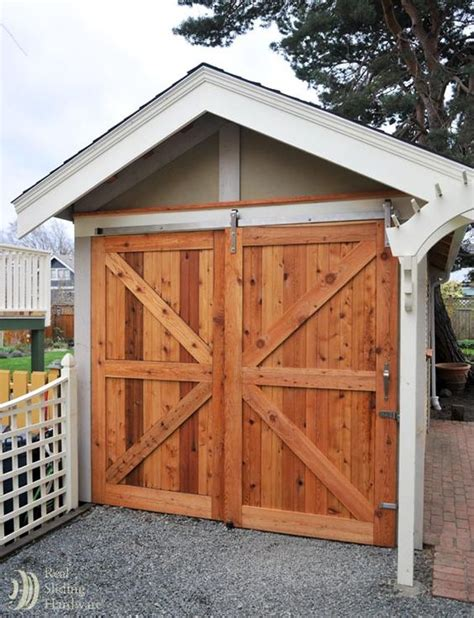 Exterior Sliding Bypass Barn Doors Barn Door Hardware Real Barn Door Kits
