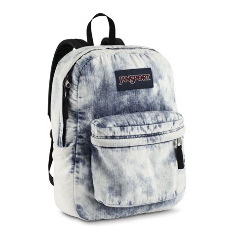 Denim Backpack buy jansport classic denim daze backpack acid blue denim jansport backpacks