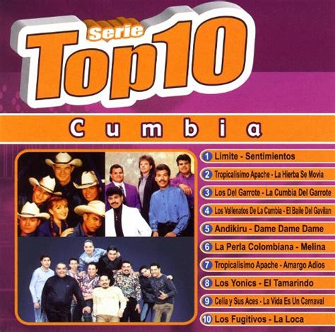 combia music serie top 10 cumbia various artists songs reviews