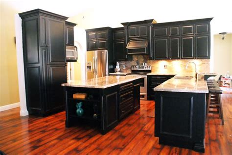 black distressed kitchen cabinets black distressed cabinets our custom built kitchens