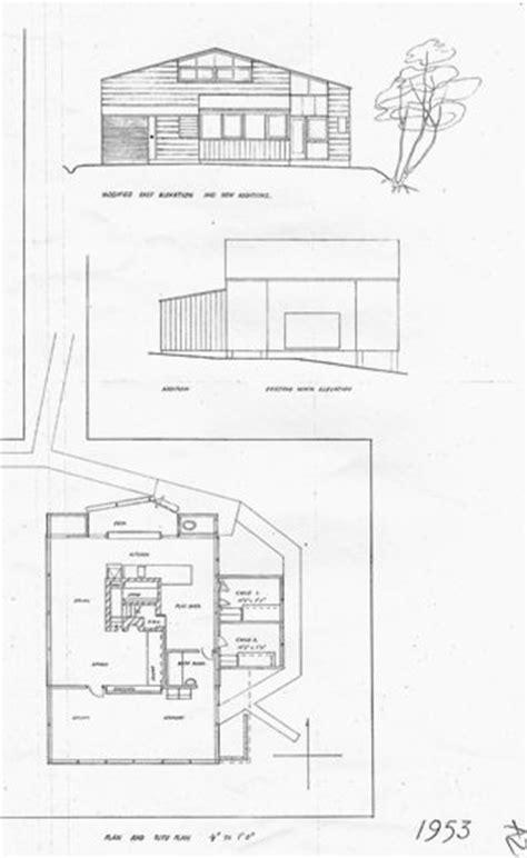 Bruce Rotherham Rotherham House Devonport Auckland Building Plans Rotherham