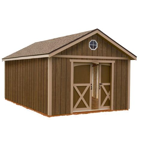Wood Storage Shed Kits by Best Barns Dakota 12 Ft X 16 Ft Wood Storage Shed
