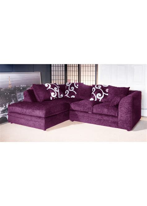 fabric corner sofa purple yes appliance rentals