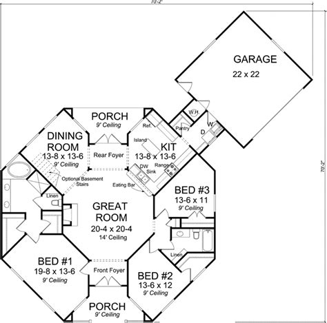 Small Octagon House Plans by 2 Story Octagon House Plans Style House Plans 1793