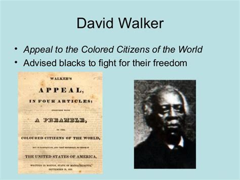 appeal to the colored citizens of the world abolition