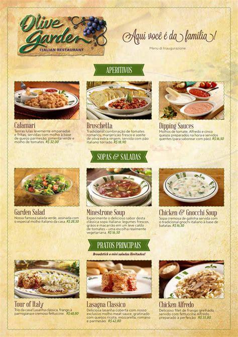 Menu De Olive Garden by Image Gallery Olive Garden Menu Orlando