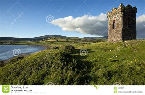 sea fishing boat license ireland an old stone watch tower over looking dingle bay co kerry