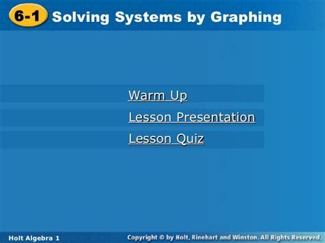 Solving Systems By Graphing Worksheet 6 1 by Systems Of Equations By Graphing By Graphing Sect 6 1