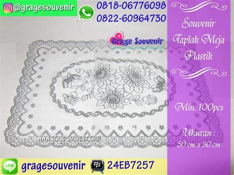 Taplak Meja Hias souvenir taplak meja plastik murah jual souvenir pernikahan