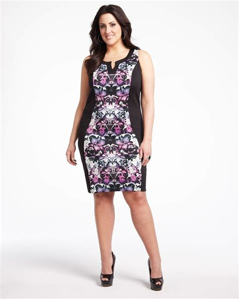 whats in atyle for the plus size gurl dresses for larger women innovative orange dresses for