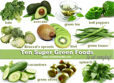 green cuisine the power of green foods