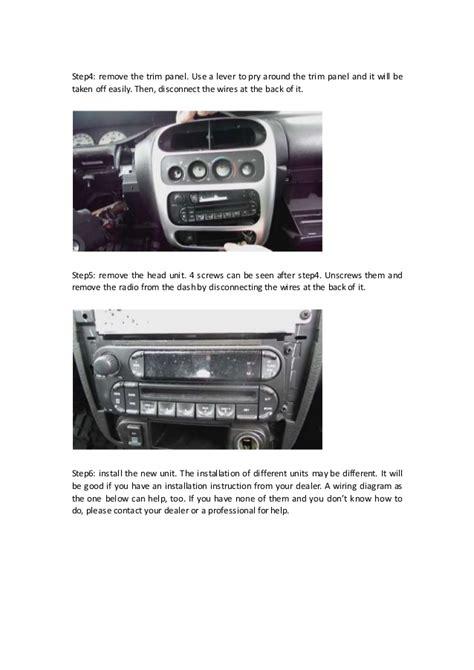 95 dodge intrepid radio wiring diagram jeep grand