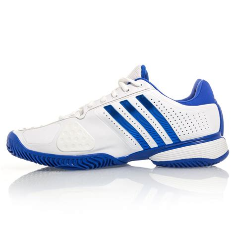 adidas tennis shoes adidas adipower barricade mens tennis shoes white blue