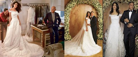 Every Single One Of Amal Alamuddin Wedding Right The Most Memorable Wedding Dresses Of 2014 Rescu