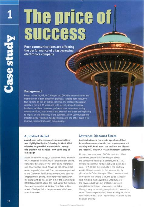 1292134798 market leader rd edition extra case study unit 2 market leader