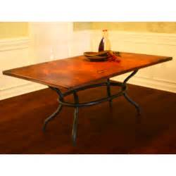 Copper Dining Table Rectangle Square Dining Tables Table Sets Humble Abode