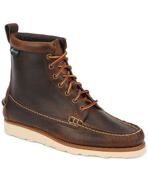 s eastland boots eastland s sherman 1955 boots in brown for lyst