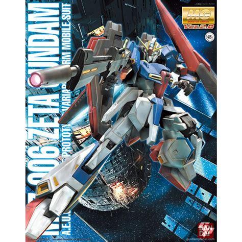 Mg 1 100 Zeta Gundam Ver 2 0 mg 1 100 zeta gundam ver 2 0 bandai gundam models kits