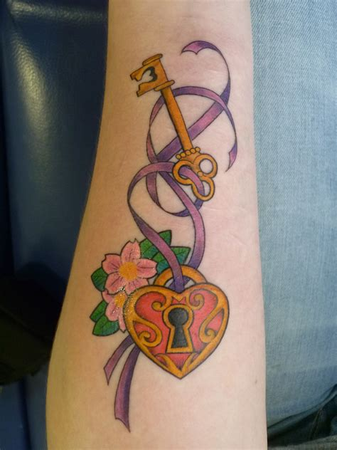 key heart tattoo lock and key tattoos designs ideas and meaning tattoos