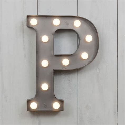 small light up letters p vegas metal 11 quot mini led letter lights marquee letters