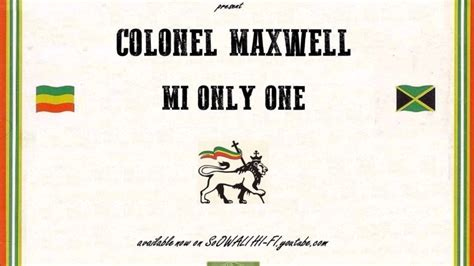 Michigan Records 2017 Colonel Maxwell Mi Only One Dub Prod By Brainfood Records 2017 New Digital