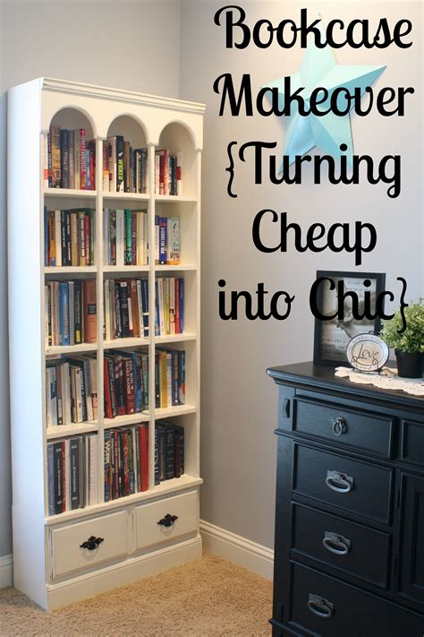 Bookcase Makeover bookcase makeover turning cheap into chic