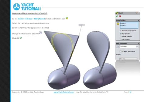 how to draw a boat propeller in solidworks 01 propeller tutorial