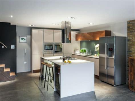 betonboden küche edelstahl idee k 252 cheninsel