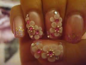 6 per 3d nail art 45 manicure light pink cal gel with