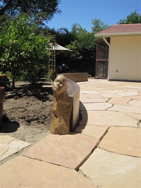 flagstone patio sealer staining concrete lastiseal stain sealer applied to