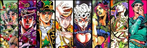 anime jojo top 10 favorite jojo adventures characters anime