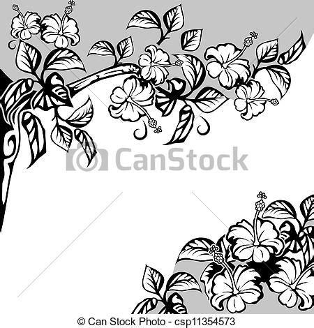 banche immagini free ilustra 231 227 o vetorial de hibisco flores bonito quadro