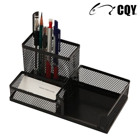 cqy new metal wire desk organizer desktop organizer pen