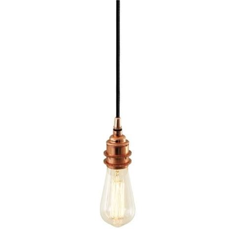 dili dili bud light copper pendant suspension for using with bare vintage