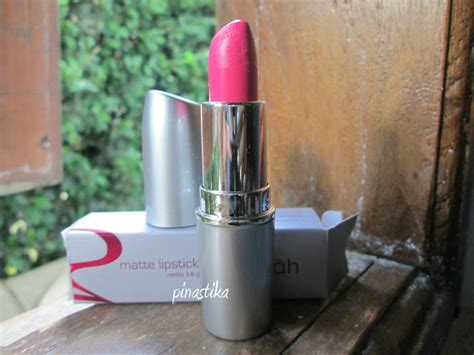 Lipstik Wardah No 32 pinastika review wardah matte lipstick no 02 pink