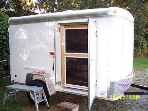 Camper Van Toaster Enclosed Cargo Trailer Camper Conversion Bing Images