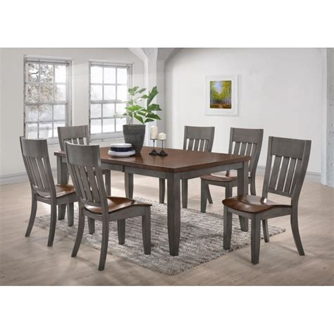 bm newbury oak dining set 7pc dining furniture dining best 7pc dining room set photos mywhataburlyweek com