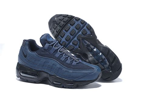 shoes outlet s nike air max 95 navy blue black shoes outlet factory