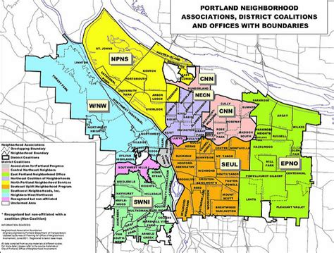 portland neighborhood map portland oregon neighborhood map swimnova