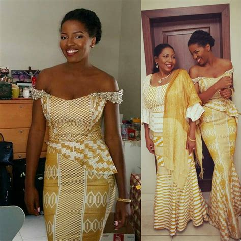 traditional ghana kente styles in engagement i do ghana jennifer mom kente wedding african