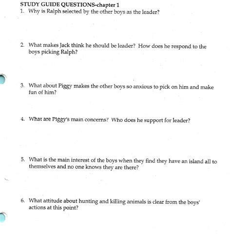 Lord Of The Flies Essay Question by Essay Questions For Lord Of The Flies