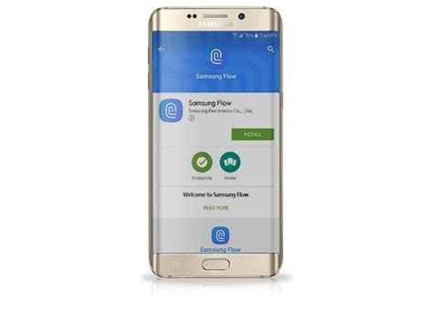 transfer content between devices with samsung flow samsung support uk