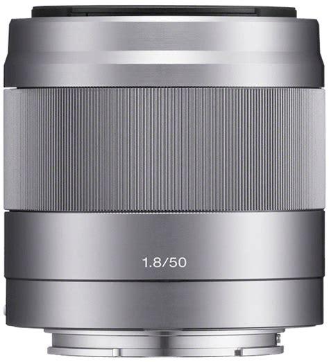 Sony Lens E 50mm F1 8 Oss Silver Lensa Sony 50mm F1 8 Resmi sony e 50mm f1 8 oss lens silver