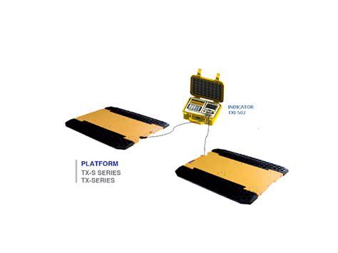 Zemic Loadcell H3 Kap 1ton timbangan jadever vibra axle pads portable truck scale dan truck scale